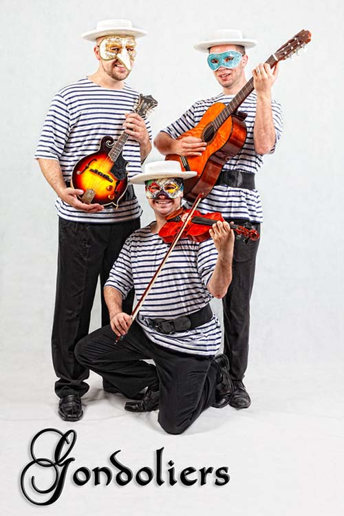 Gondoliers of Venice Trio 1